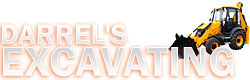 Excavating Contractor in Red Deer - Darrel's Excavating  Logo